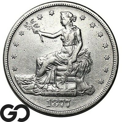 1877-S Trade Dollar, Highly Demanded Silver $