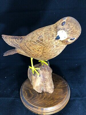 Sparrow Hawk Wood Carving '1986'
