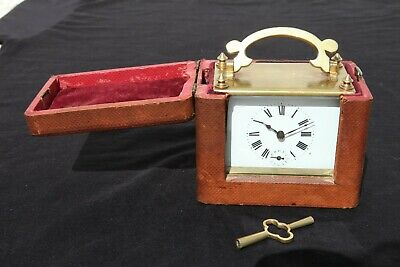 French Officer's Carriage Clock