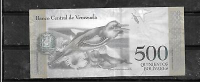 Venezuela 2017 500 Bolivares Uncirculated New Banknote Paper Money Currency Note