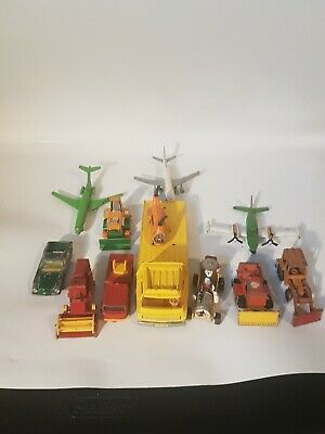 Lot Of 12 Assorted Die Cast Cars  -