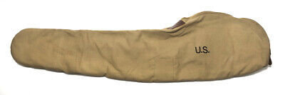 WORLD WAR 2 M1 GARAND FLEECE LINED CANVAS CASE Khaki Color Marked JT&L 1942