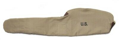 WORLD WAR 2 M1 CARBINE FLEECE LINED CANVAS CASE Khaki Color Marked JT&L 1942