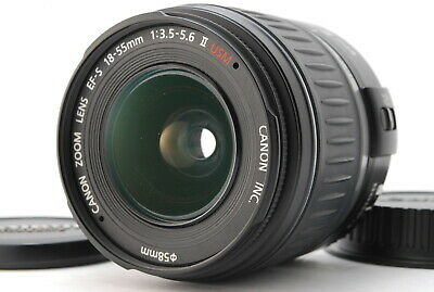"【FEDEX OK】"" N-MINT"" Canon EF-S 18-55mm F/3.5-5.6ⅡUSM Zoom Lens From JAPAN"