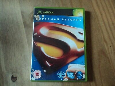 Superman Returns Case for XBox - Empty Box Only
