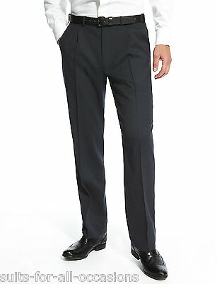 """Men/'s Ex FaMouS High-Street Store Navy Trousers 32/"""" 34/"""" 36/"""" 38/"""" 40/"""" 42/"""" 44/"""""""