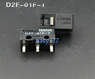 2pcs new Omron D2F-L-D3 Snap Action Limit Switch Mouse micro switch