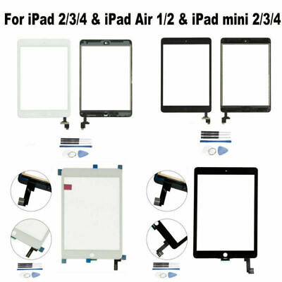 Replacement Touch Digitizer Screen for iPad 2/3/4 & iPad Air1/2 & iPad mini2/3/4