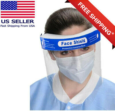 Face Shield Safety Hat Reusable Washable  Protection Cover Face Mask Anti-Splash