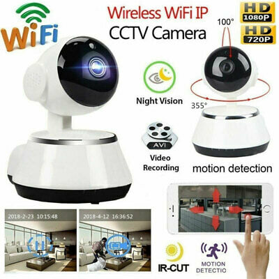 Wireless V380 720P HD WIFI Security IP Camera IR Night Home Webcam Baby Monitor