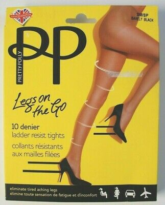 Pretty Polly Ankle Highs  ~ Nude ~ Barely Black ~  BNWT