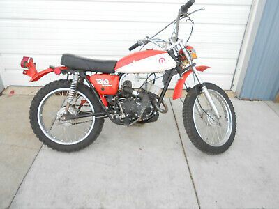 1975 Other Makes Enduro  1975 Taka by Rockford Enduro   Clear Title  Orange  Only 1244 Miles