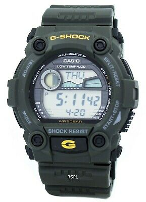 CASIO G SHOCK WATCH G 7900 2 G7900 2Dr Moon Data Tide Graph  cfqew