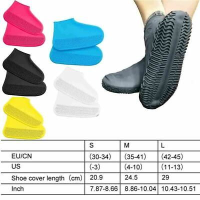 Overshoes Rain Silicone Waterproof Shoe Covers Boot Recyclable Protector Z5Z7