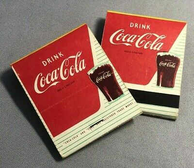 VINTAGE COCA-COLA BOATING GUIDES 1959 /& 1960 TWO DIFFERENT   60 YEARS OLD