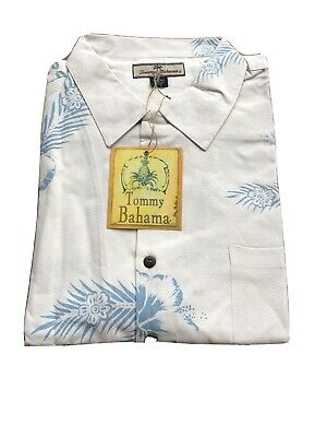 "White Reg $49.50 Tommy Bahama Size L /""THE FIRE IS SO DELIGHTFUL/"""