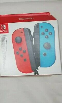 EMPTY BOX ONLY - Official Nintendo Switch Joy-Con Packaging -Red/Blue c
