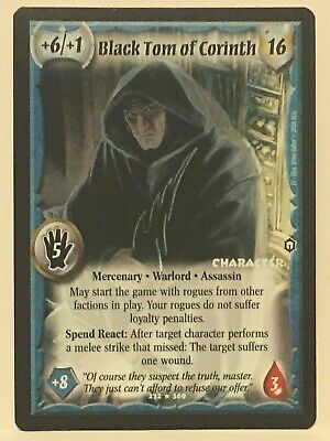 @DEVERENIANS@ ASSASSINS/'S STRIKE RARE Warlord Saga of the Storm Warlord CCG