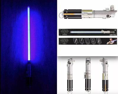 New Disney Parks Exclusive Star Wars Rey Lightsaber With Stand Removable Blade
