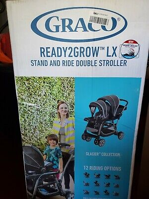 Graco Ready2Grow Click Connect LX Stroller Glacier