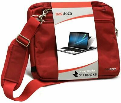 Navitech Red Graphics Tablet Case//Bag Compatible with The Parblo A640