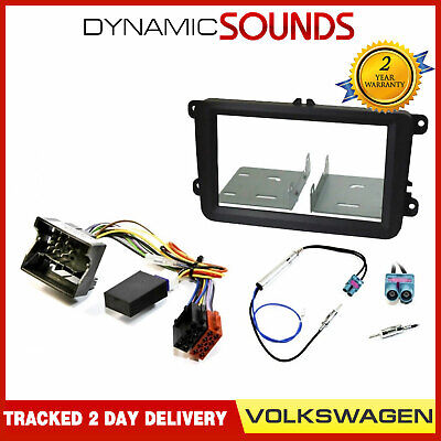 InCarTec FK-110-IGN Audi A4 B6 single din stereo fitting kit Canbus Ignition