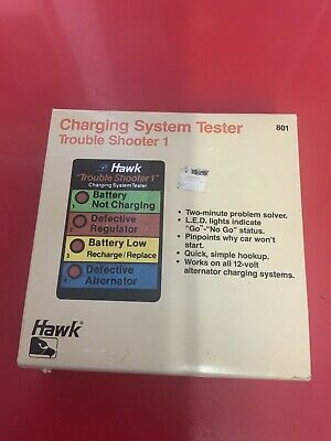 Nos Hawk Charging System Tester Trouble Shooter 1 Classic Car Maintenance,