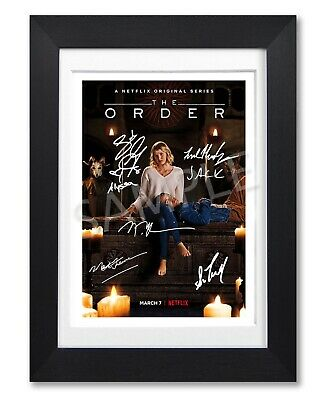 The Order Cast Signed Poster Netflix Tv Show Series Print Photo Autograph Gift