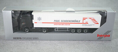 Herpa MB Actros Koffer SZ with Xmas Greetings 2008 1:87 OVP /</</<selten RF38