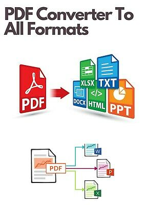 PDF Converter To All - Convert PDF To Word,Excel,JPG,HTML,TIFF Instant Convert