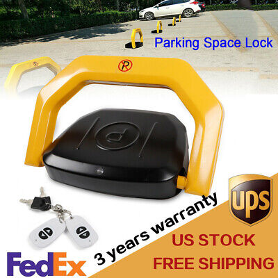 Private Parking Space Lock with Locked Remote Control FREE SHIPPING