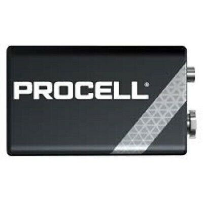 10x 9V- Bloc MN1604 Batteries Duracell Industriel Succession V.Duracell Procell