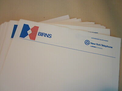 stickers two sizes phone company 15 New York Telephone NYNEX equipment decals