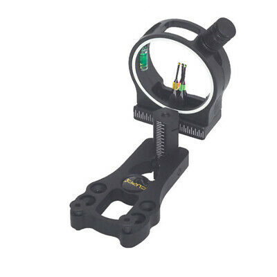 Hot Extreme Aluminum Compound Bow Sight 3-Pin Hunting Archery Fiber Optic EV