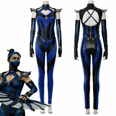 Sub Zero Mortal Kombat Costume Halloween Cosplay Fancy Dress Full Head Mask 9 99 Picclick Uk