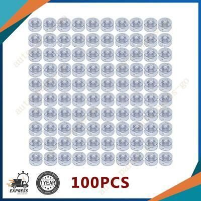 100-pcs Bobbins for Brother Sewing Machine Style SA156 Number X52800150 XA553915