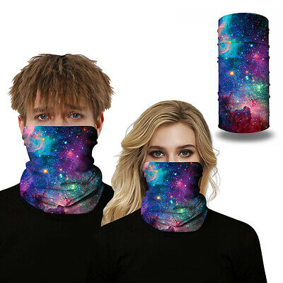 onehous Bandana Face Mask 2 Pack Multifunctional Tube Scarf Face Mask Sun UV Protection Face Scarf for Men//Women Balaclava Head Wear Neck Gaiter Scarf Face Sweatband for Outdoor Sports