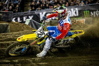 Chad Reed MotorCoss off road bike Wall Art Print Poster Room Decoration A4 A2 A1