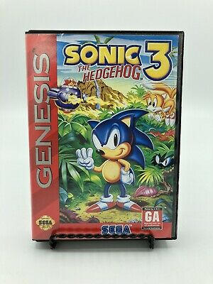 Sonic The Hedgehog 3 Sega Genesis Case Cartridge 25 99 Picclick