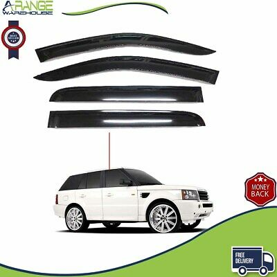 Just Kampers Cab Window Wind and Rain Deflector Smoked Compatible For VW T4 90-03 Excluding Models With Electric Windows