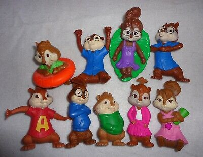 Alvin And The Chipmunks Squeakquel Chipwrecked Chipettes Mcdonald S Toy Figures 18 99 Picclick