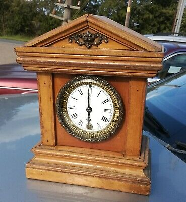 Small ansonia mantle Clock, working order