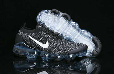 Nike Air VaporMax Flyknit 3 Men's Shoes Black and Grey