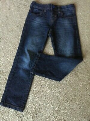 Blue Zoo Bllue Slim Jeans Age 5 Years Height 110cm.Elasticated Back Waistband