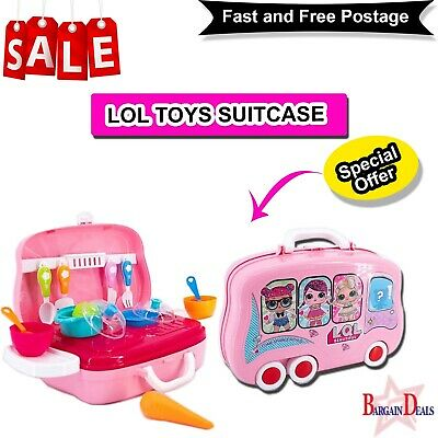LOL Toys Suitcase Children Birthday Party Bags Fillers Boys Girls Prizes Bubbles