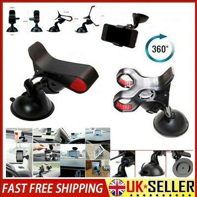 Universal 360 Rotating Car Windscreen Suction Cup Mobile Phone Holder Mount
