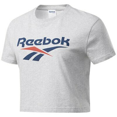 Reebok CL F Vector Crop Plus Size W t shirt white