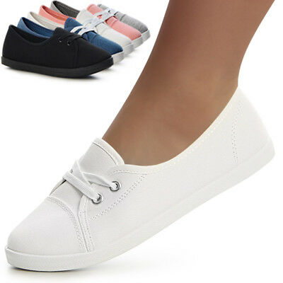 BASKETS FEMMES CHAUSSONS Chaussures Plates Basses