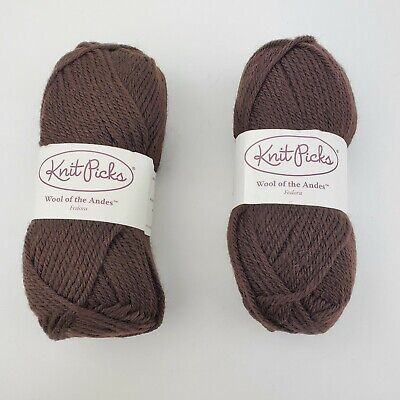Yarn Knit Picks Wool of the Andes 100/% Peruvian Highland Wool 110 Yards//Skien