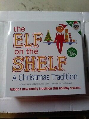 The Elf on the Shelf Christmas Doll Toy & Book Christmas Tradition Boy Free Ship